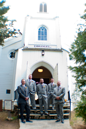 Zach and his Groomsmen